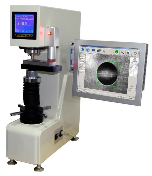 自动布氏大家都在哪里买球LHB-3000AC综合反映出材料的硬度性能,能准确地反映出铸铁、铸钢、锻材等粗大晶粒材料的真实硬度